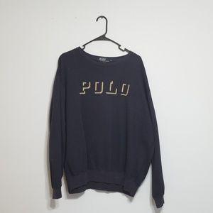 Polo Ralph Lauren Vintage Sweater XL Spellout